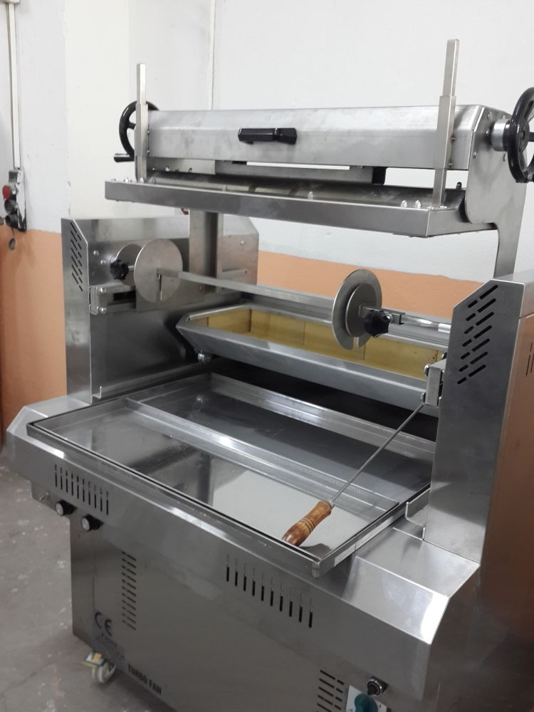50 KG CAPACITY ELECTRIC HORIZONTAL SHAWARMA MACHINE
