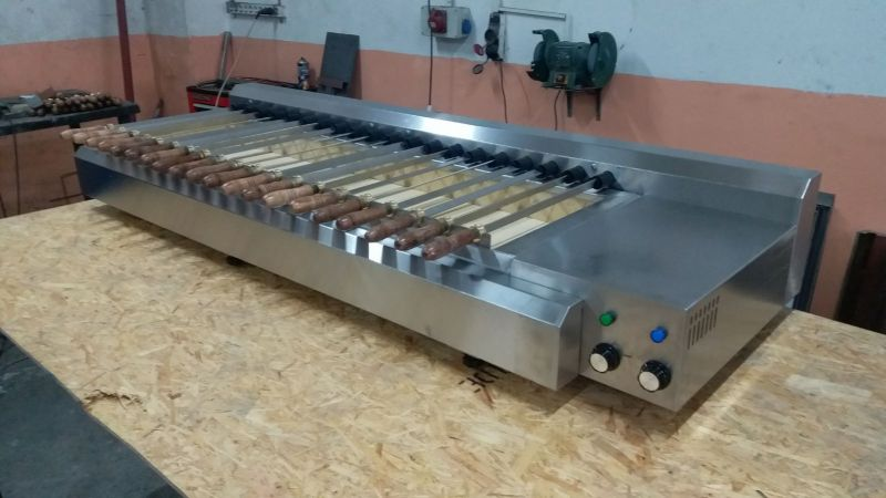 AUTOMATIC GRILL 20 SKEWERS
